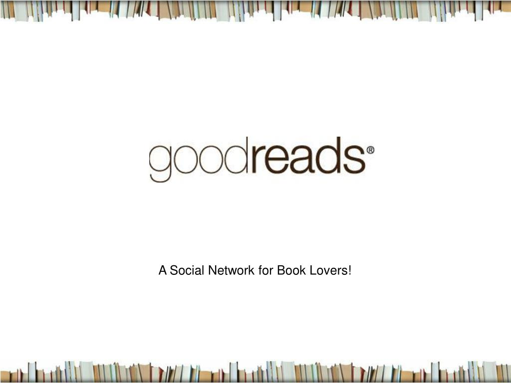 A Social Network for Book Lovers!