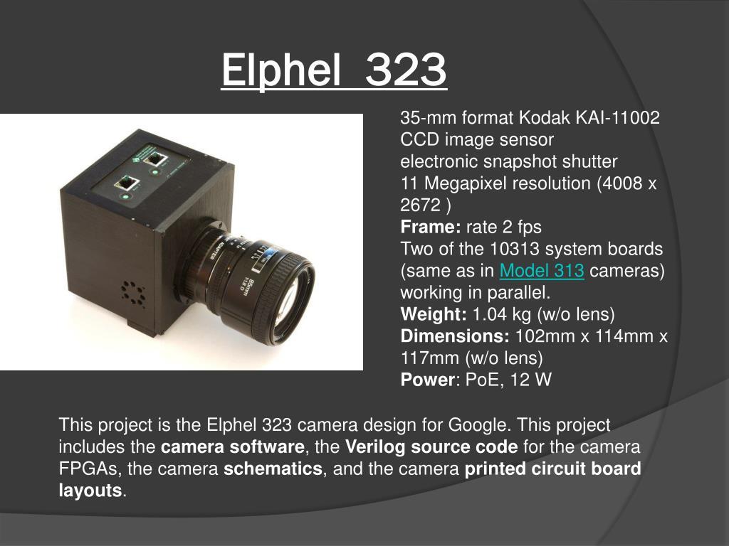 Elphel  323