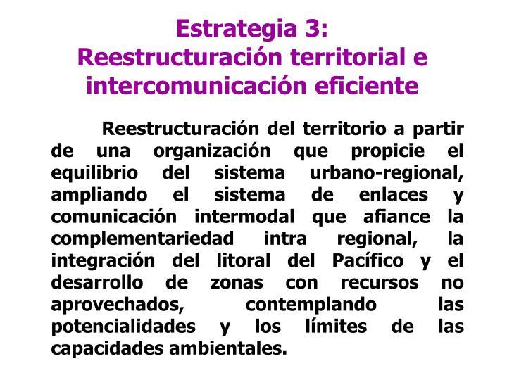 Estrategia 3: