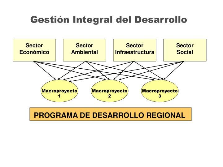 Gestión Integral del Desarrollo
