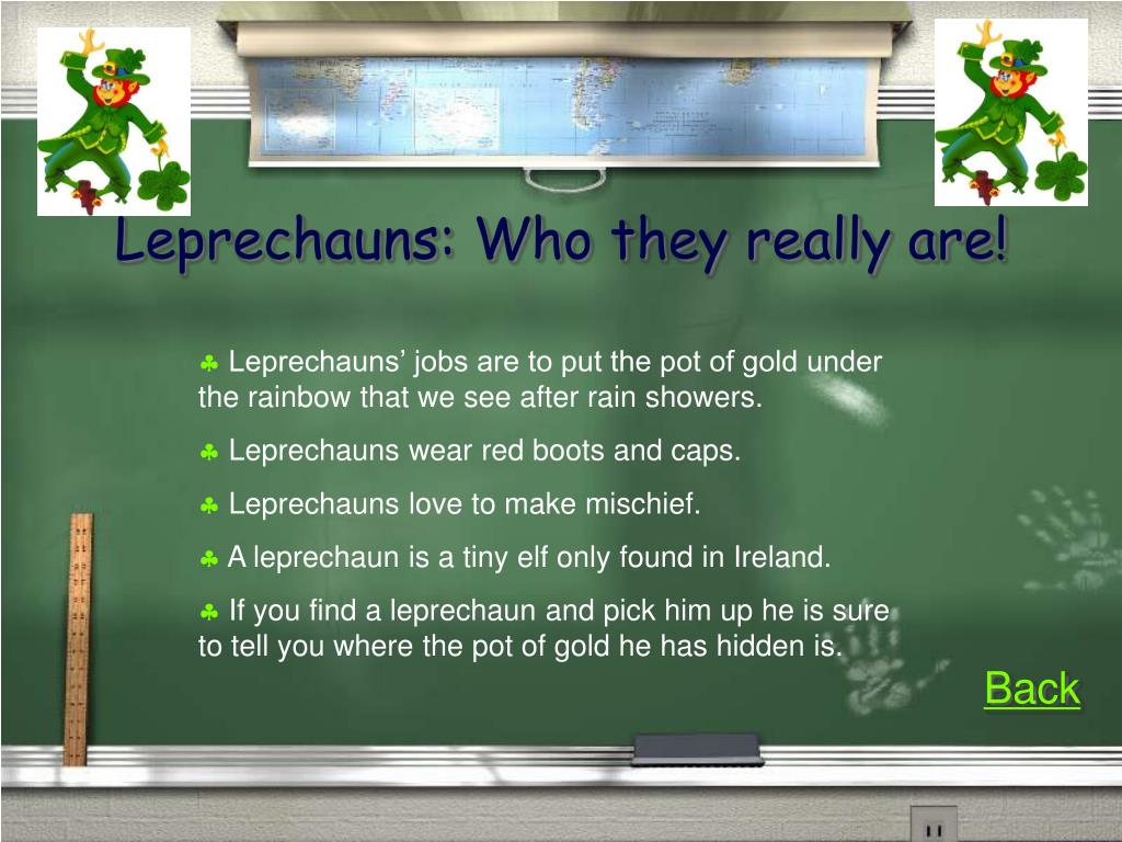 Leprechauns: Who they really are!