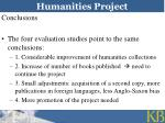 humanities project21