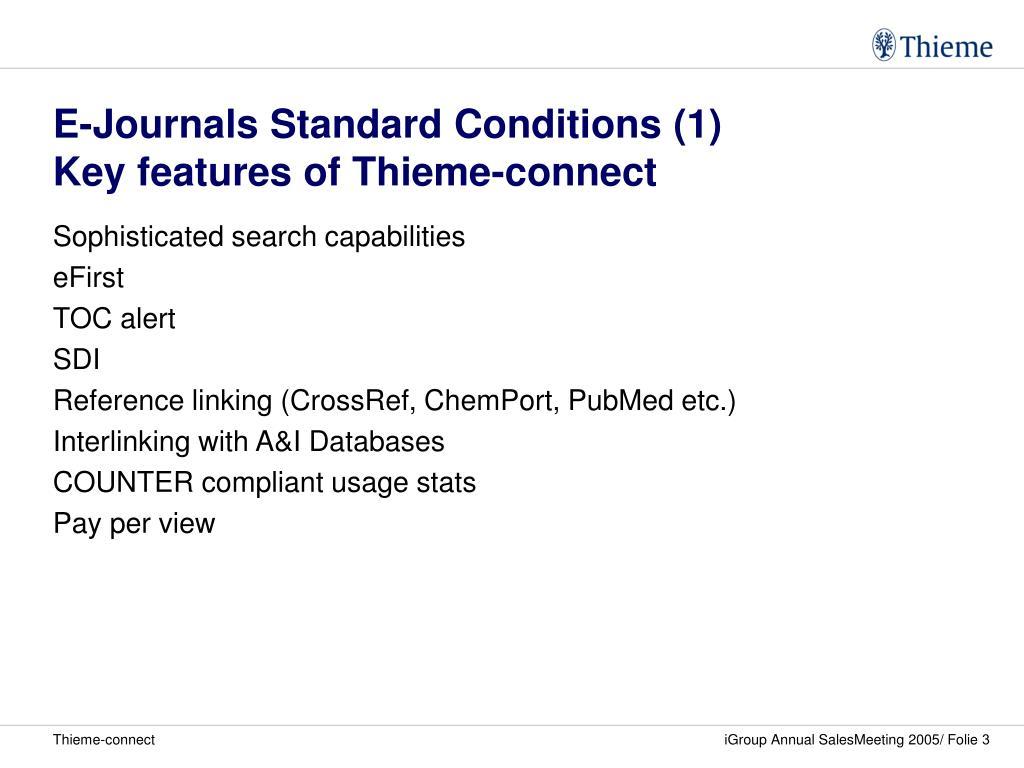 E-Journals Standard Conditions (1)