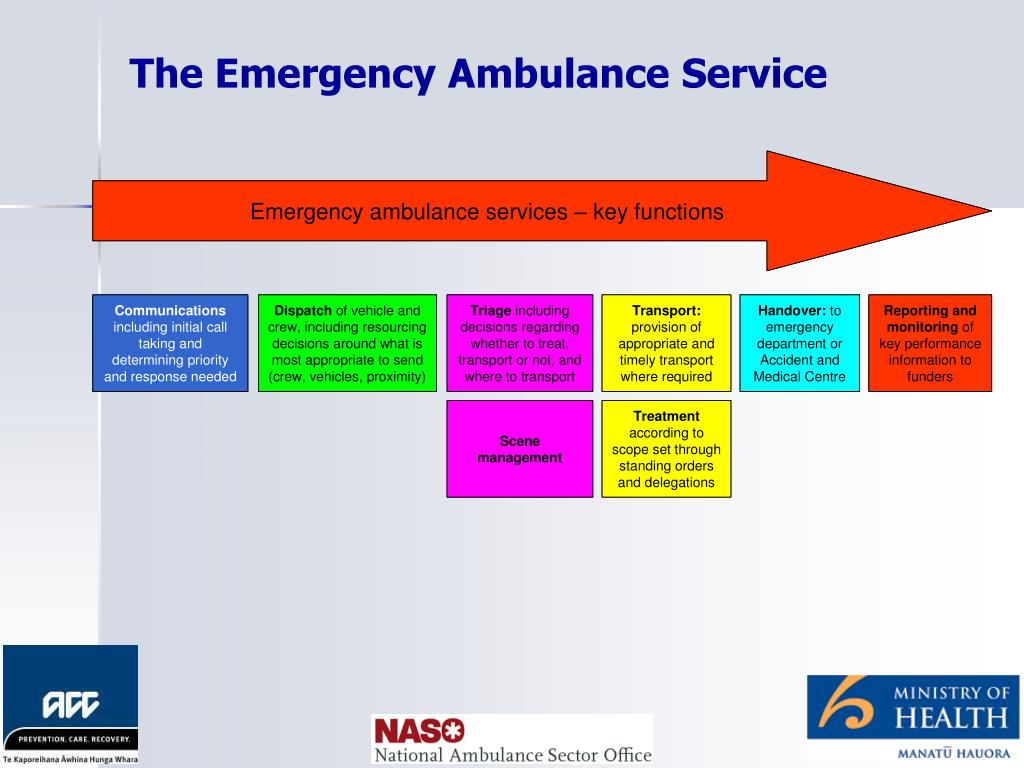 The Emergency Ambulance Service
