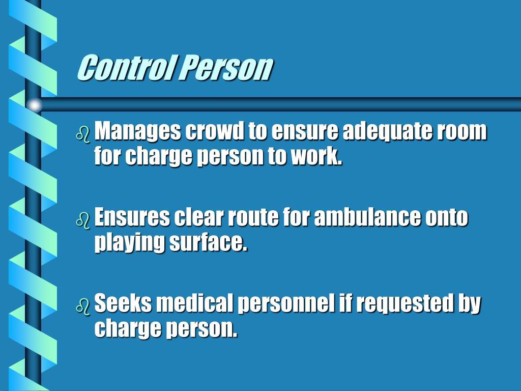 Control Person