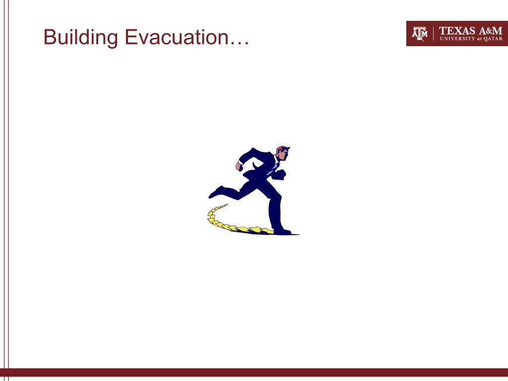 Building Evacuation…