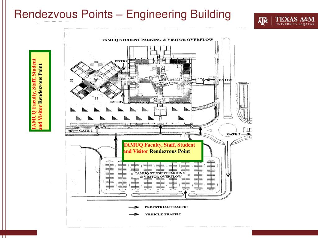 Rendezvous Points – Engineering Building