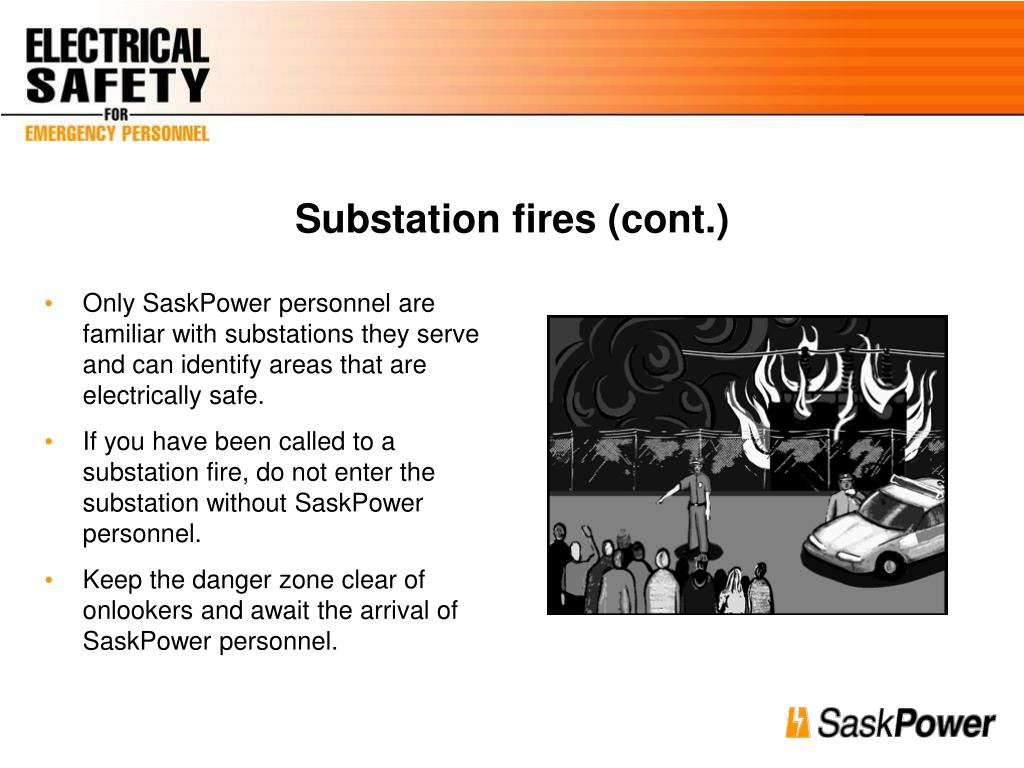 Substation fires (cont.)