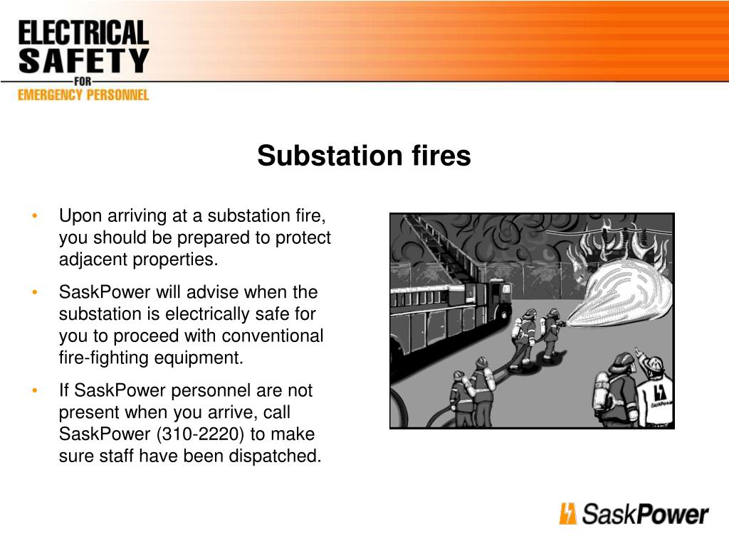 Substation fires