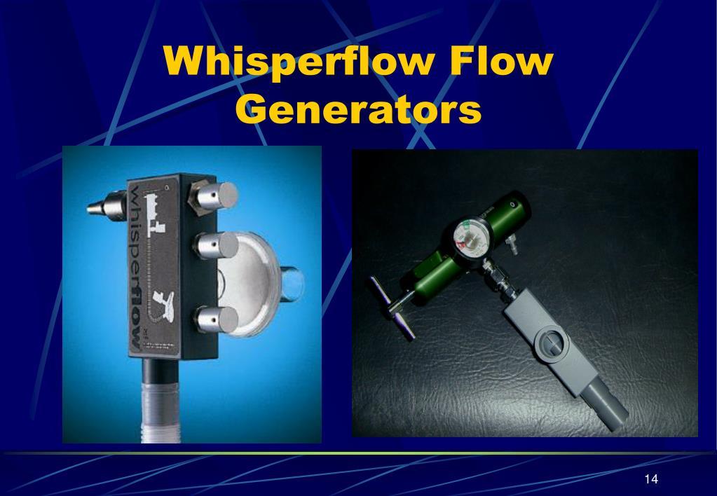 Whisperflow Flow Generators