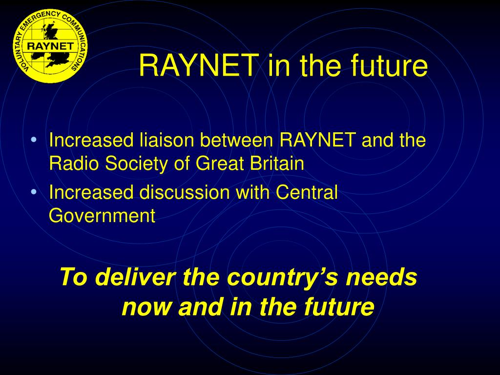 RAYNET in the future