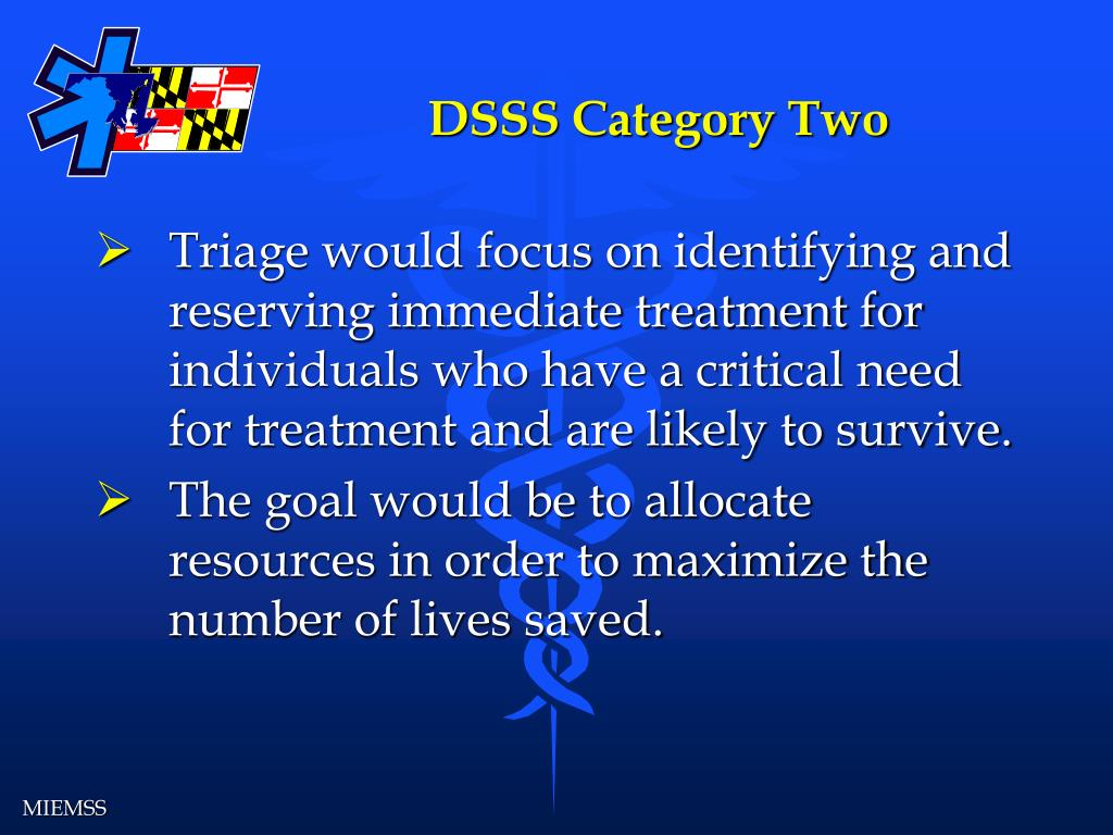DSSS Category Two