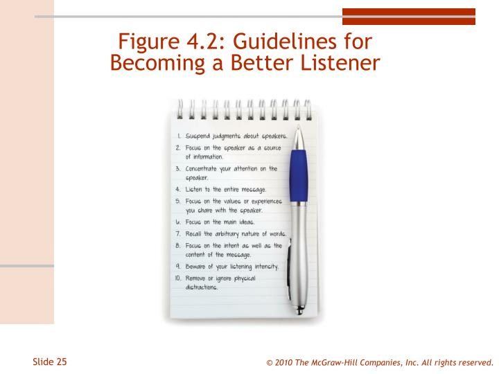 Figure 4.2: Guidelines for