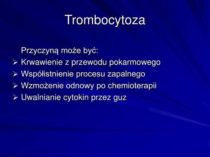 Trombocytoza