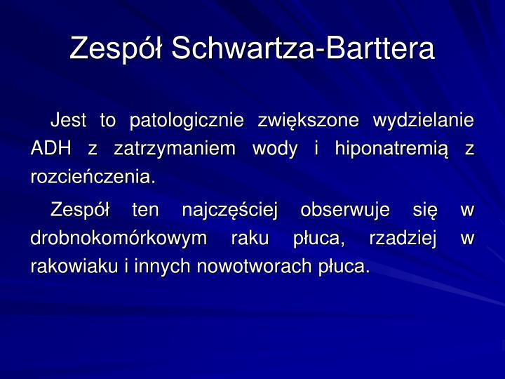 Zesp Schwartza-Barttera