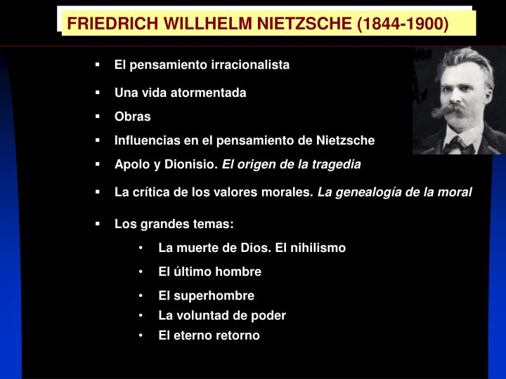 the ideas of freud and nietzsche That one could say, as a general introduction to this idea of a history of   techniques  were freud, nietzsche, and marx, so that we are always returned  in a per.