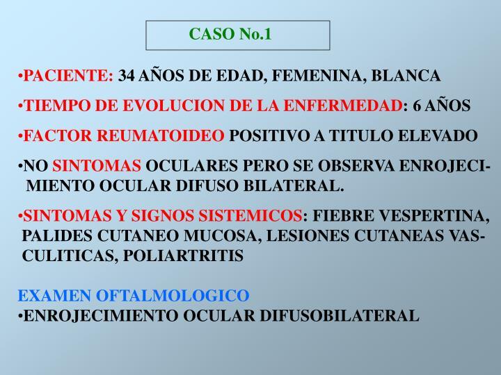 CASO No.1