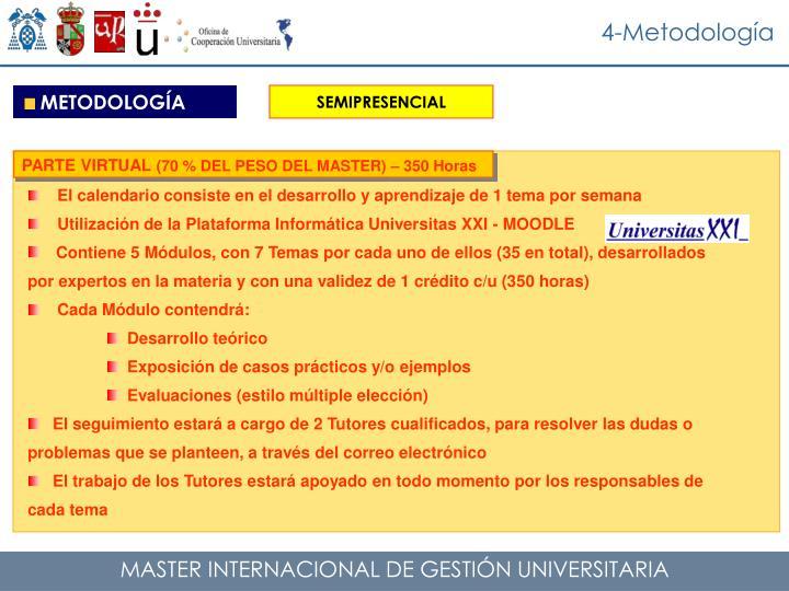 4-Metodología