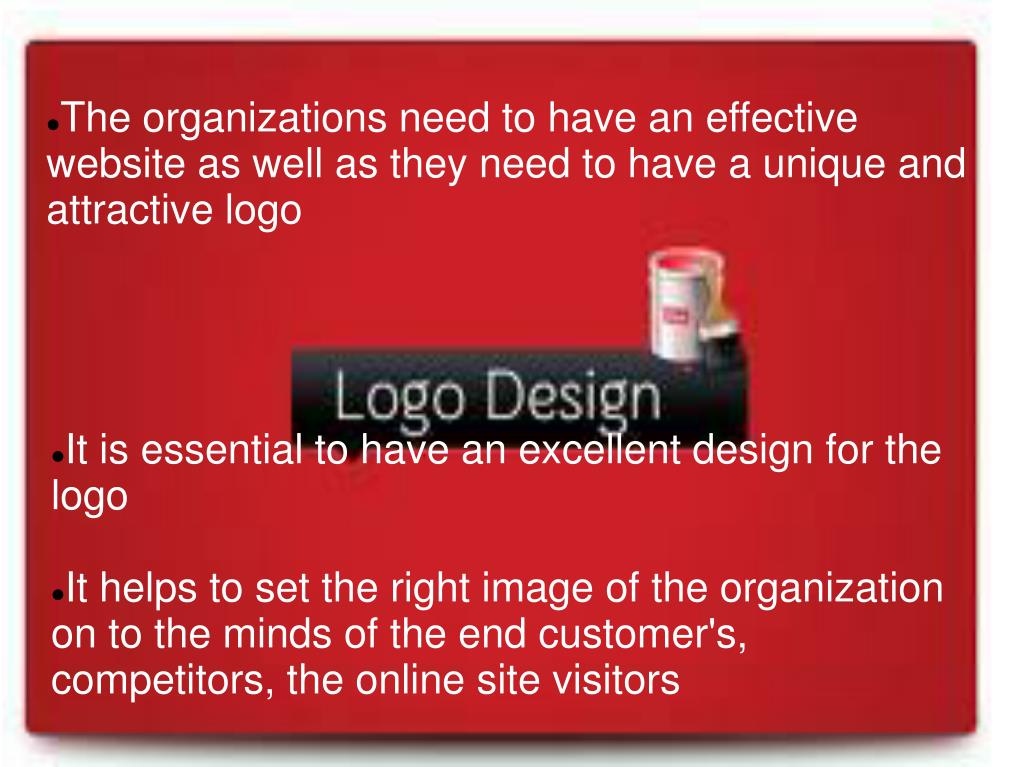 It is essential to have an excellent design for the logo