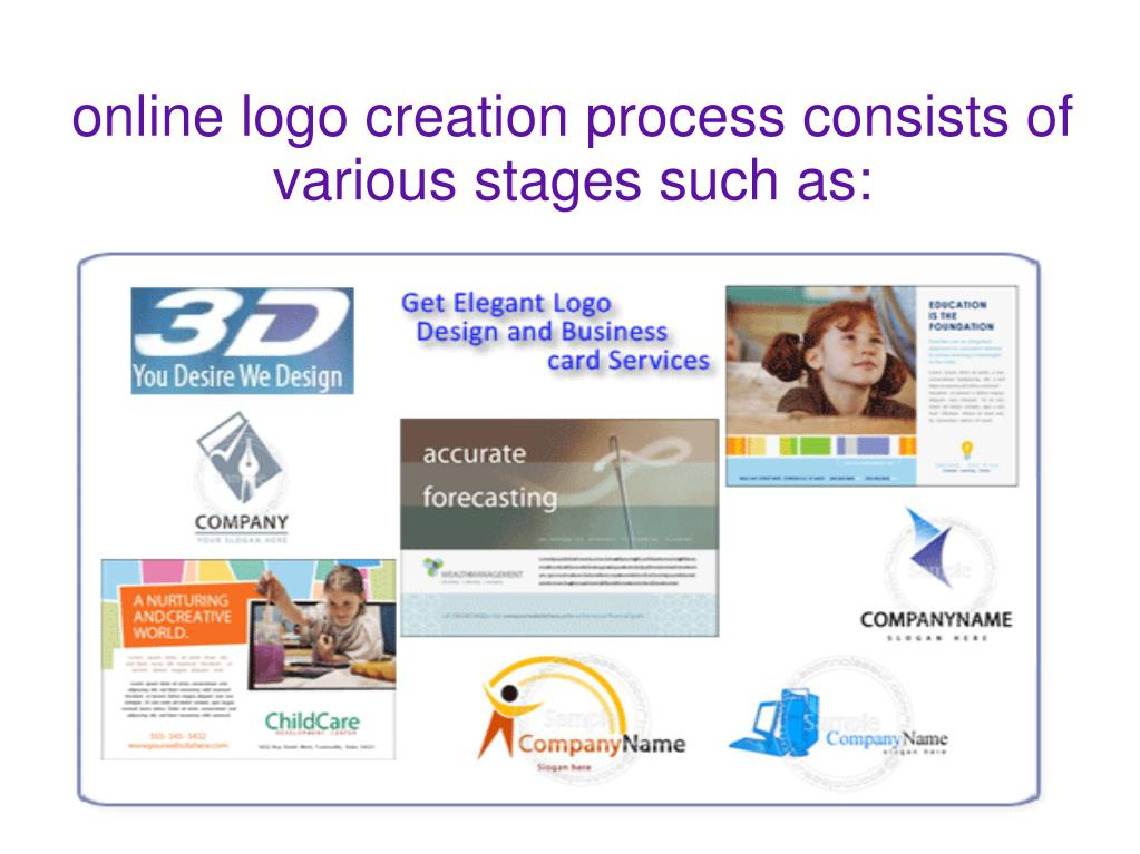online logo creation process consists of various stages such as:
