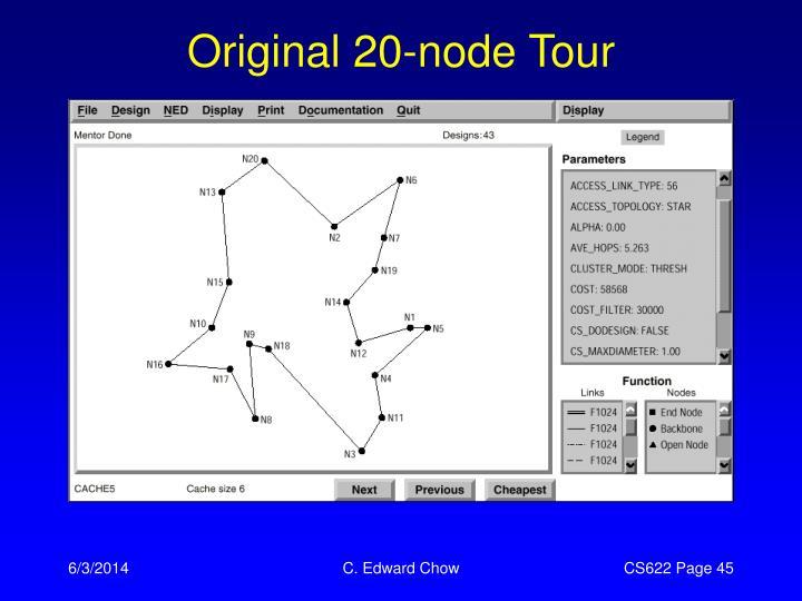 Original 20-node Tour