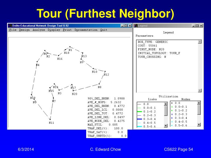 Tour (Furthest Neighbor)