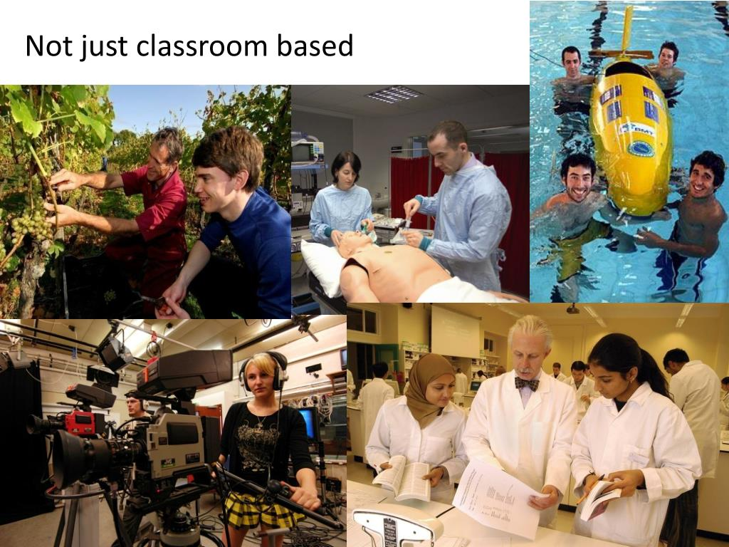 Not just classroom based