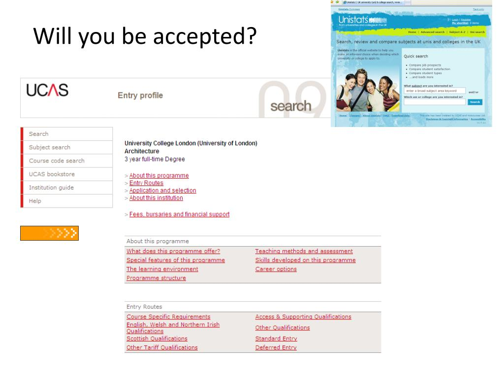Will you be accepted?