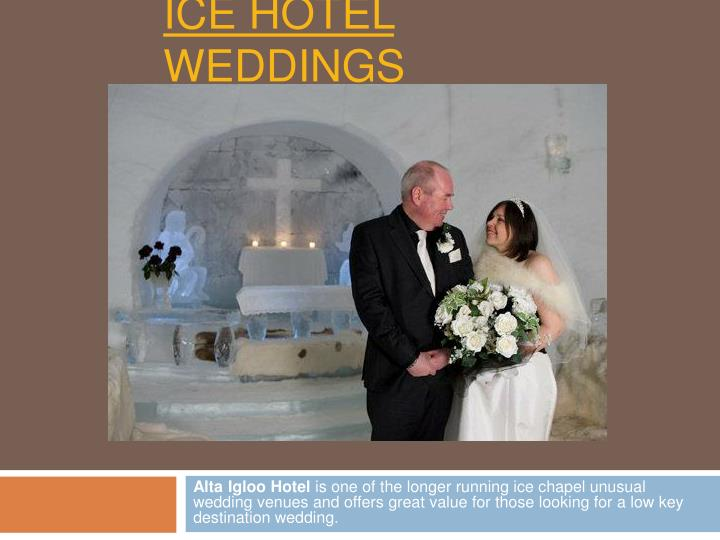 Ice hotel weddings1