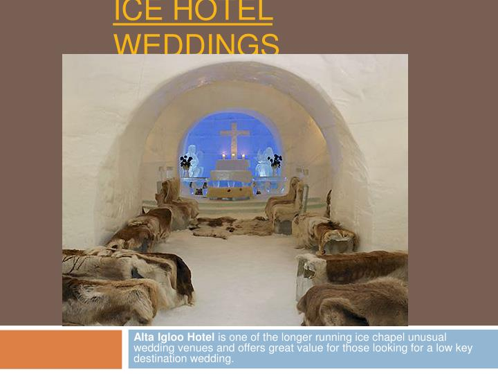 Ice hotel weddings2