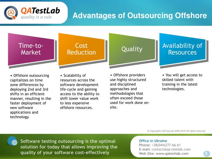 Advantages of Outsourcing Offshore