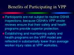 benefits of participating in vpp1