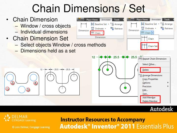 Chain Dimensions / Set