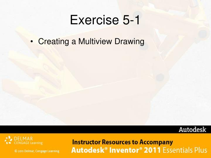 Exercise 5-1