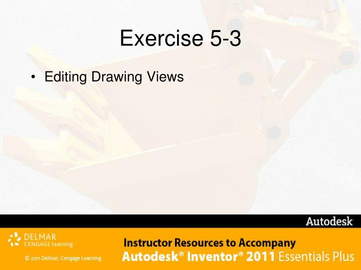Exercise 5-3