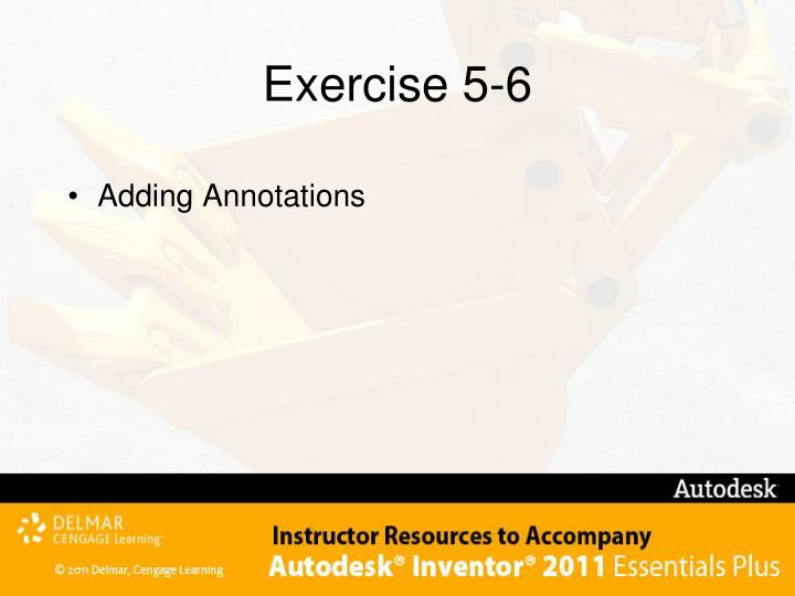 Exercise 5-6