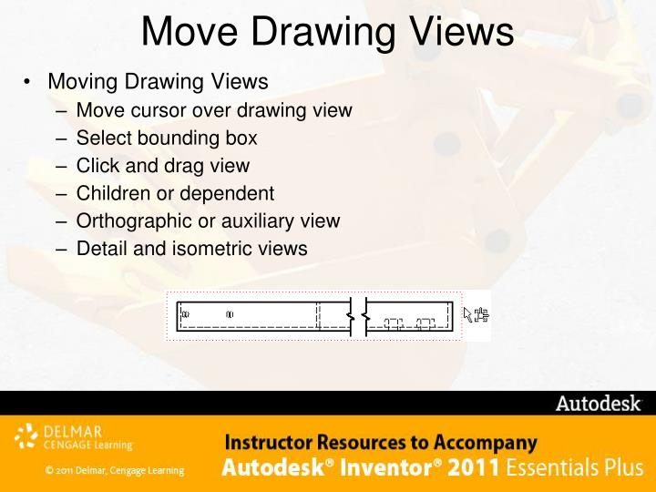 Move Drawing Views