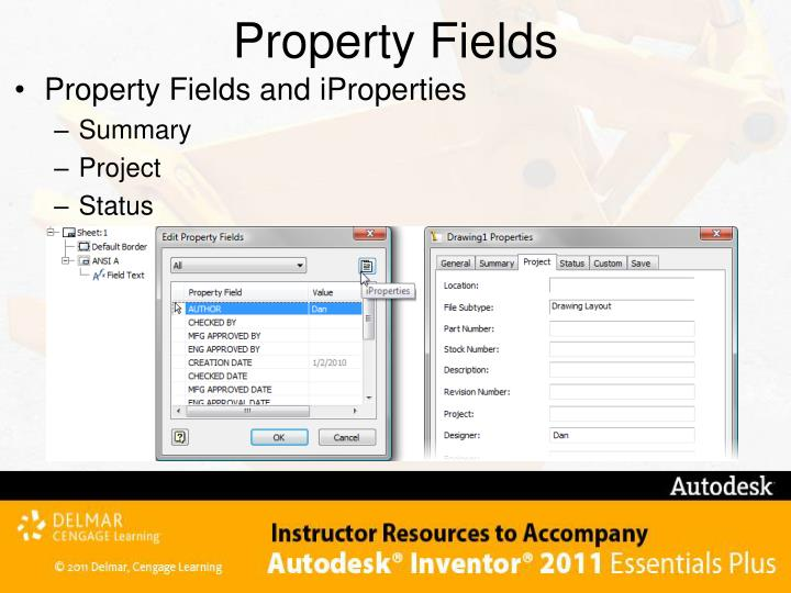 Property Fields