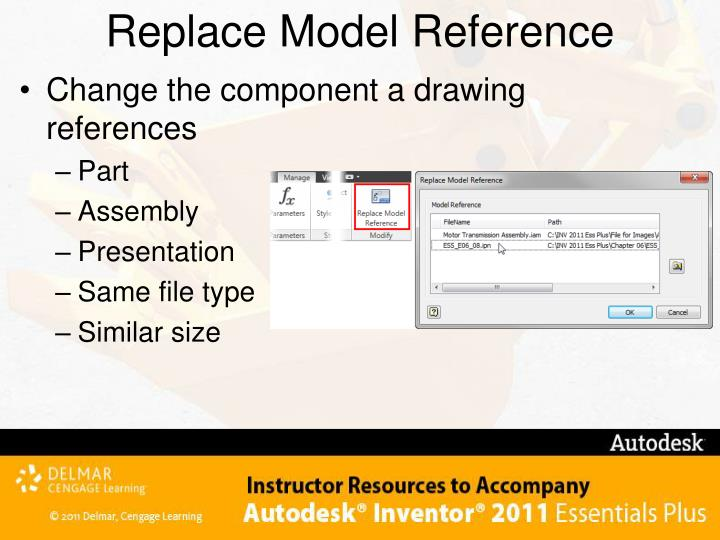 Replace Model Reference