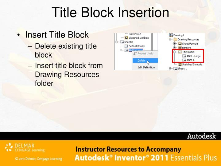 Title Block Insertion