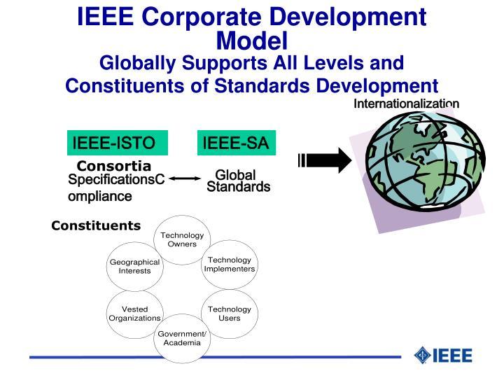 IEEE Corporate Development Model