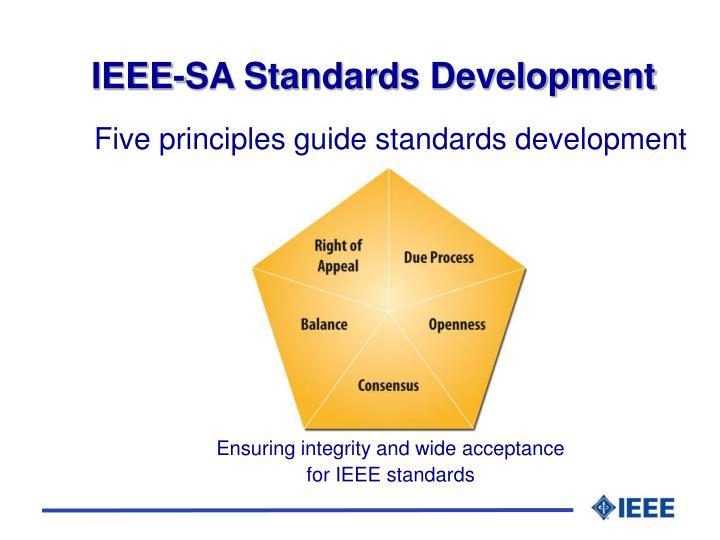 IEEE-SA Standards Development