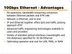 10gbps ethernet advantages