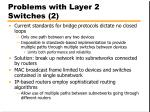 problems with layer 2 switches 2