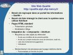 site web qualit http qualite aipl uhp nancy fr