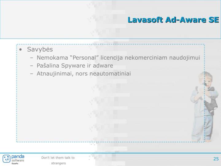 Lavasoft Ad-Aware SE