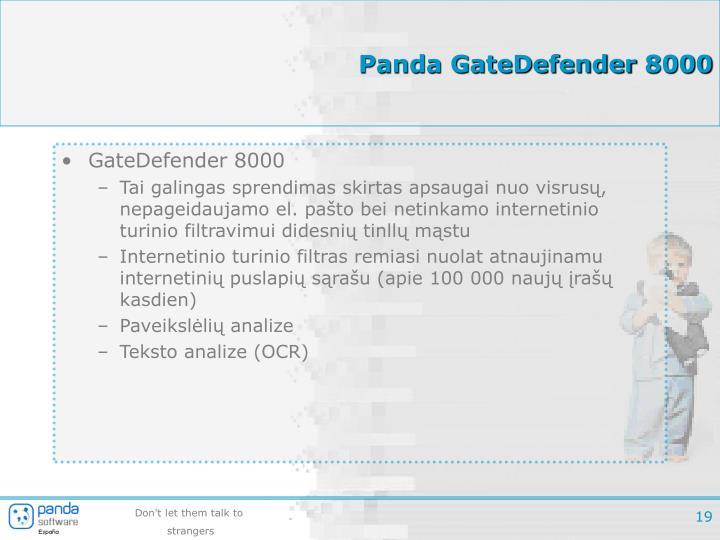 Panda GateDefender