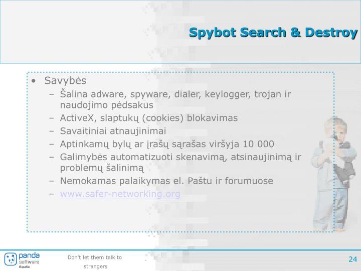 Spybot Search