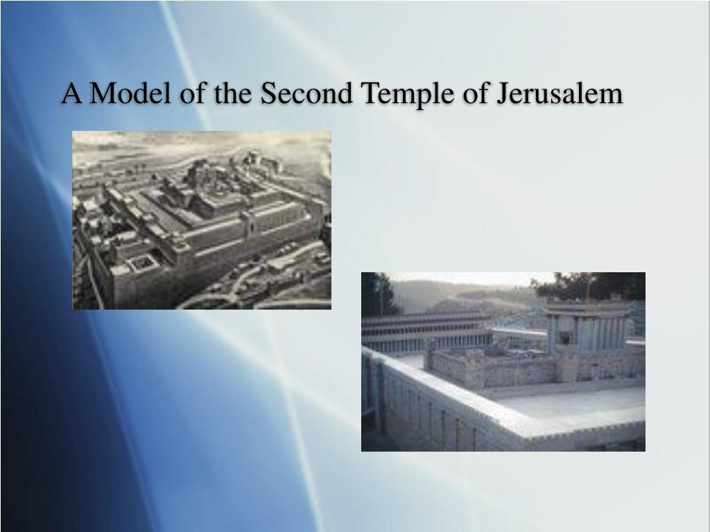 A Model of the Second Temple of Jerusalem