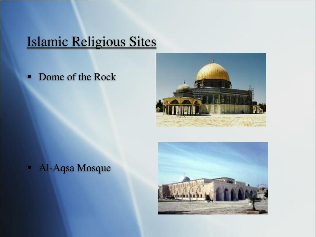 Islamic Religious Sites